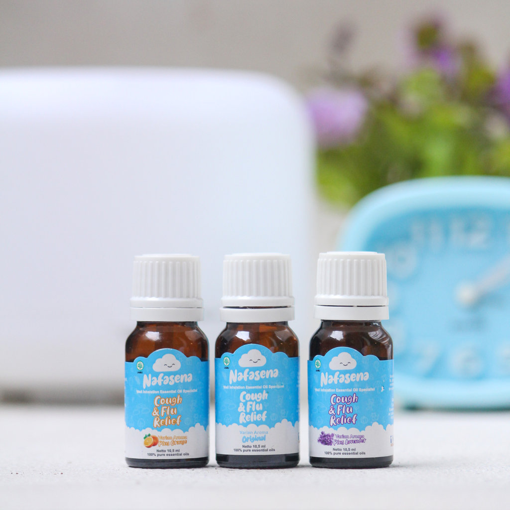Nafasena Essential Oils Cough and Flu Relief